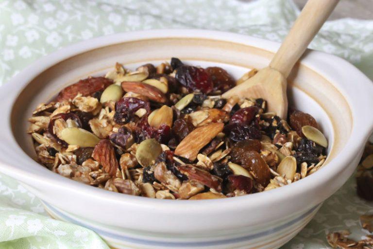 almond granola recipe