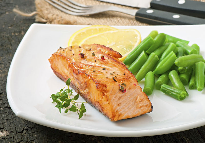 Brody's maple glaze salmon recipe